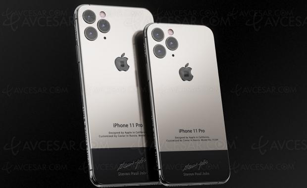 iPhone 11 Pro Superior en l'honneur de Steve Jobs et d'autres génies