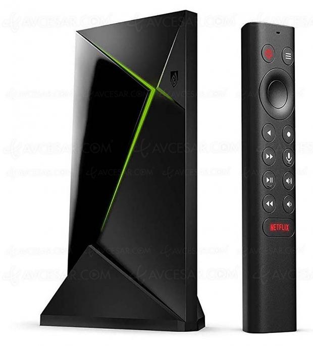 Nouvelle box nVidia Shield TV Pro HDR Dolby Vision/Dolby Atmos, puce Tegra X1+ et télécommande Netflix