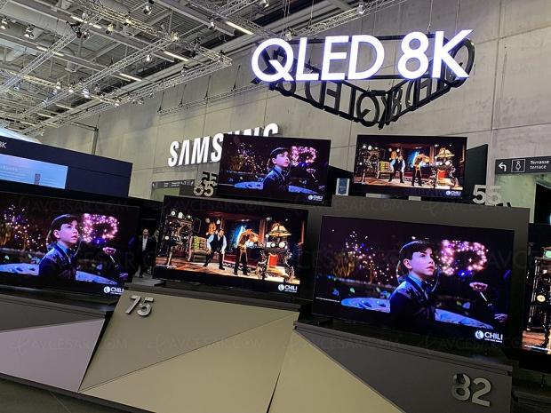 Marché TV Ultra HD/8K 2019, prévision de ventes sensiblement en hausse