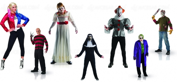 Déguisements pour Halloween, tous les fantômes de l'Amérique