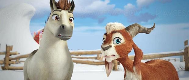 Elliot, le plus petit des rennes, de la 3D pour le feel-good movie de Noël des enfants