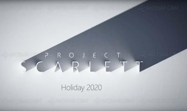 Sortie mondiale pour la Xbox Scarlett