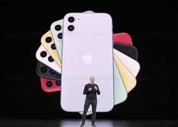 Production de l'iPhone 11 en hausse, et iPhone Pro Max en baisse