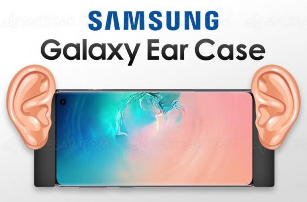 Étui smartphone Samsung avec… des oreilles