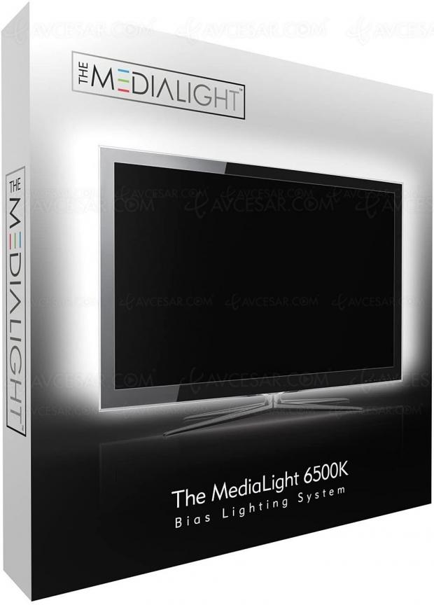 The Medialight, pour une meilleure image TV et éviter la fatigue oculaire