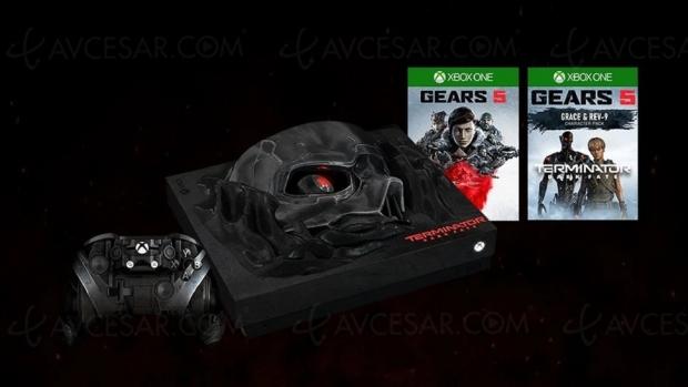 Xbox One X édition spéciale Terminator Dark Fate (à gagner)