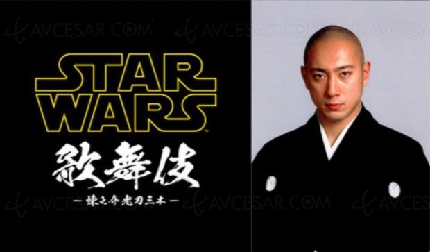Star Wars version kabuki pour une seule représentation