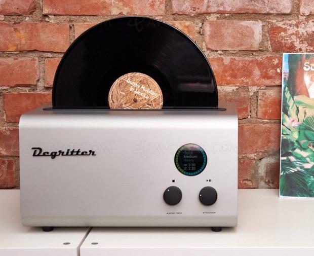 Degritter : nettoyeur de vinyle à 4 500 dollars !