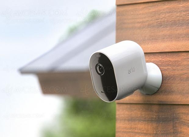 Arlo Pro 3, caméra de surveillance nouvelle génération : résolution 2K, vision nocturne et grand angle 160°