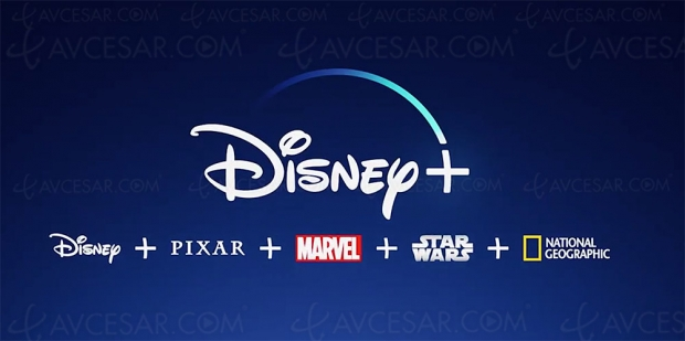 Disney+ disponible en France le 31 mars 2020