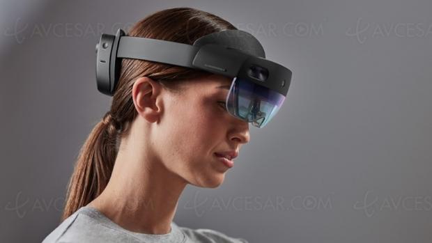 Casque de réalité mixte Microsoft HoloLens 2