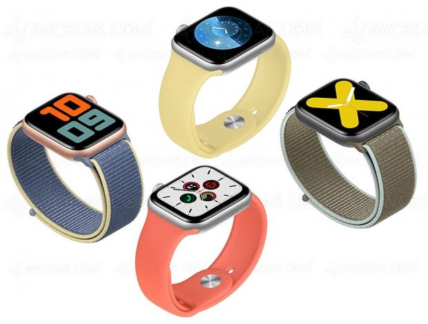 Apple, roi de la montre connectée au troisième trimestre 2019
