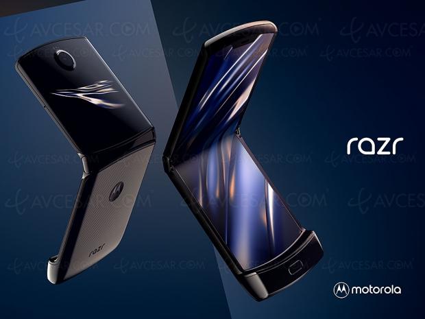 Motorola réinvente le Razr, smartphone pliable officiellement annoncé à 1 499 $