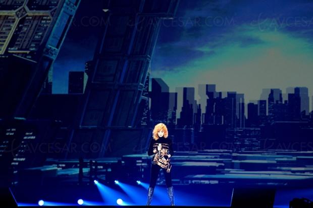 155 000 spectateurs en salle pour le film-concert de Mylène Farmer