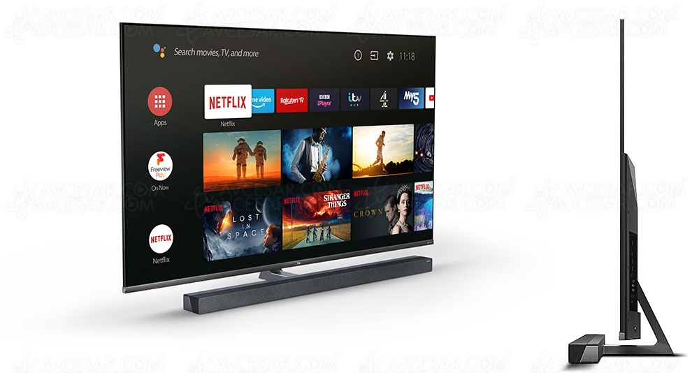 TV Mini LED UHD/4K TCL X10, mise à jour prix indicatif