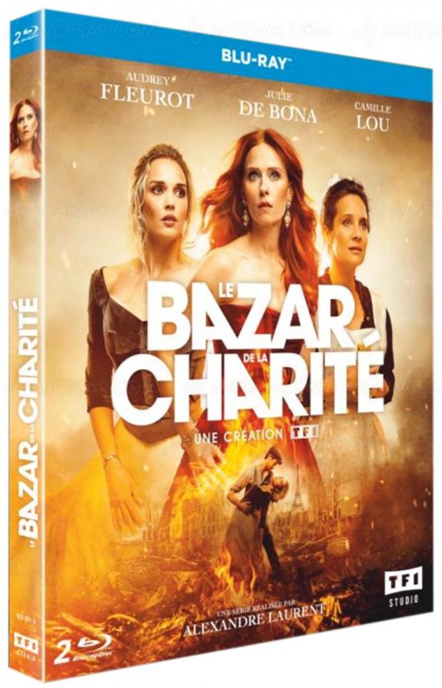Le bazar de la charité avec Audrey Fleurot en Blu-Ray le 15 janvier