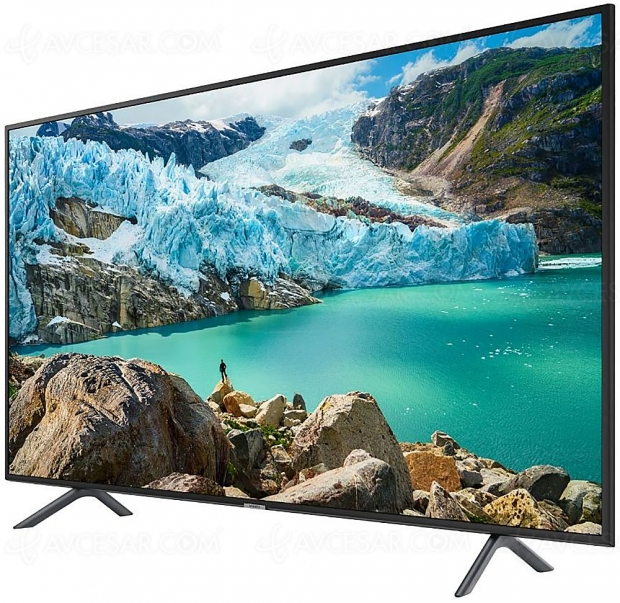 Black Friday 2019 > TV LED Ultra HD/4K Samsung UE58RU6105 (147 cm) à 499 € soit 29% de remise