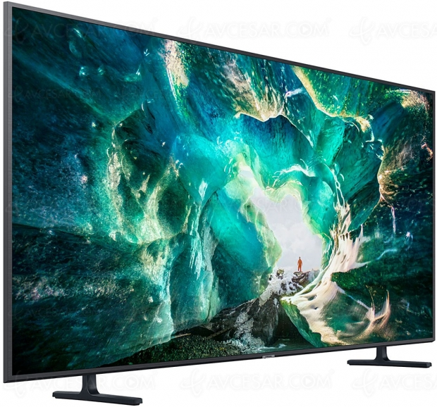 Black Friday 2019 > TV LED Samsung UE82RU8005 (82'', 208 cm) à 2 190 € avec ODR de 300 € soit 27% de remise