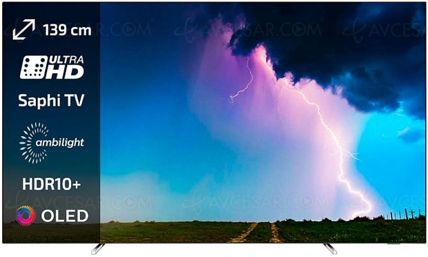 Black Friday 2019 > TV Philips 55OLED754 à 1 099,99 € soit 500 € ou 32% de remise