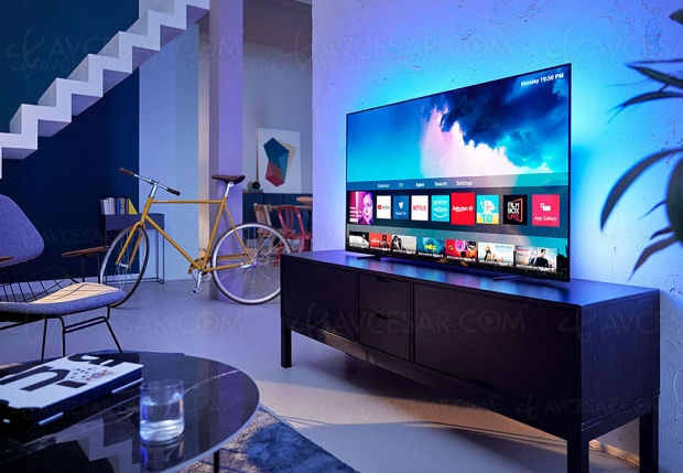 Black Friday 2019 > TV Philips 65OLED754 à 1 699 € soit 800 € ou 32% de remise