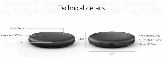 Cyber Monday 2019 > Module Alexa Amazon Input à 19,99 €, soit une remise de -50%