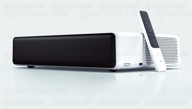 Cyber Monday 19 > Vidéoprojecteur Xiaomi Mi Laser Video Projector à 1 290 €, soit 600 € de remise