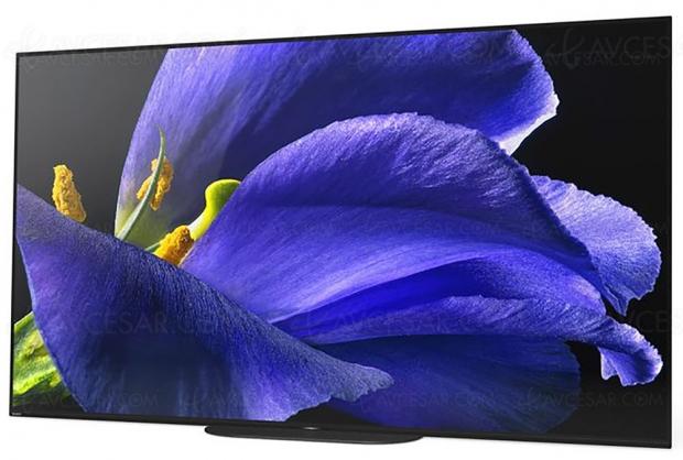 Cyber Monday 2019 > TV Oled Sony KD‑65AG9 à 2 999 € soit 1 000 € de remise