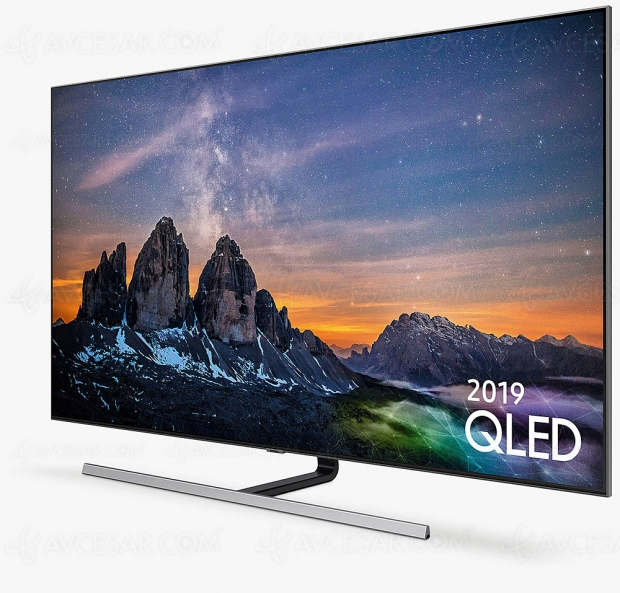 Cyber Monday 2019 > TV QLED Samsung QE65Q80R à 1 499 € soit 40% ou 1 000 € de remise