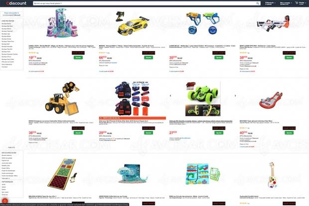 Cyber Monday 2019 > 1 jouet acheté, 1 jouet offert, 856 articles concernés