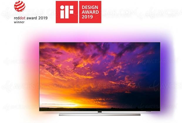 Cyber Monday 2019 > TV Oled Philips 55OLED854 à 1 399 € soit 30% ou 600 € de remise