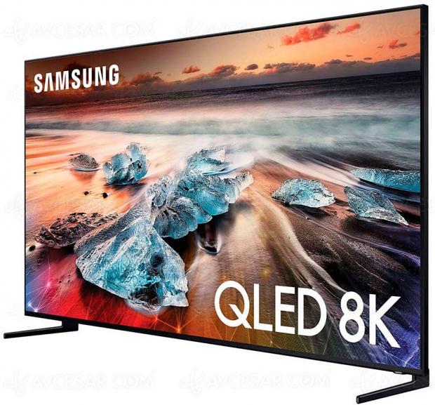 Cyber Monday 2019 > TV LED Ultra HD/8K Samsung QE82Q950R à 7 999 € soit 1 000 € de remise
