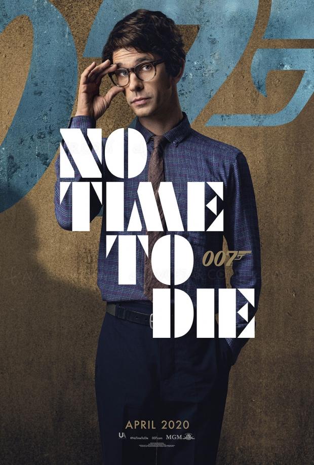 No Time to Die, après les 14 secondes du prochain James Bond, les posters