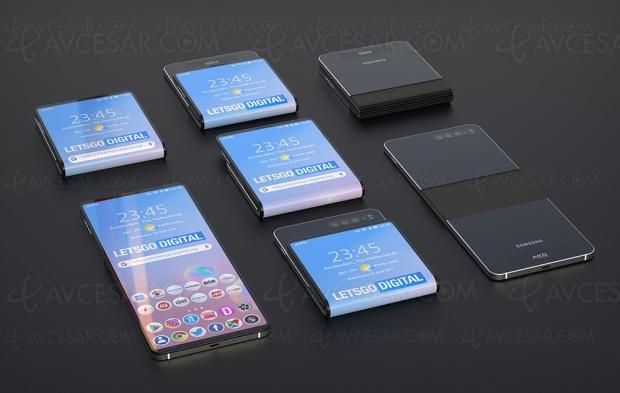 Deux smartphones pliables Samsung Galaxy Fold en 2020 ?