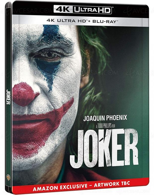 Précisions sur les éditions 4K Ultra HD et Blu‑Ray du film Joker