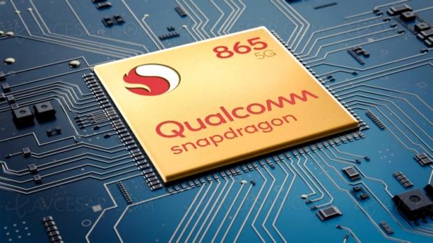 Nouveau processeur mobile Qualcomm Snapdragon 865 : vidéo Ultra HD/8K, caméra 200 Mpxls, 5G…