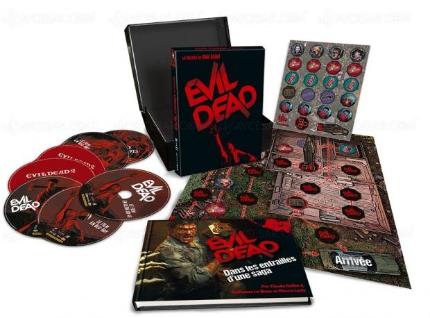 La trilogie Evil Dead en coffret ultime 4K Ultra HD, Blu‑Ray et DVD