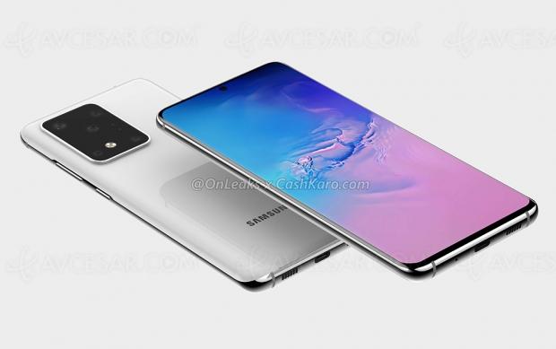 Capteur photo 108 Mpxls pour le Samsung Galaxy S11 ?
