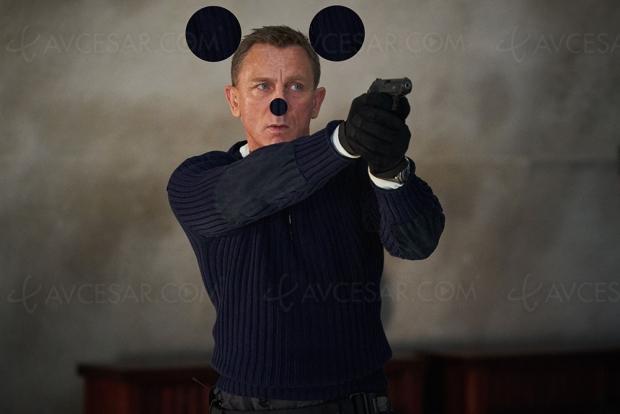 Quand Mickey veut manger Bond !
