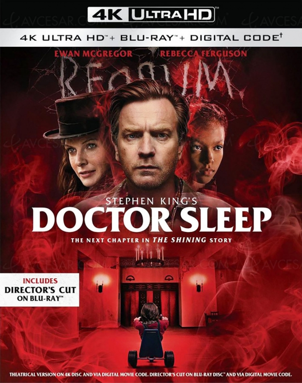 Doctor Sleep version longue 4K Ultra HD le 21 janvier