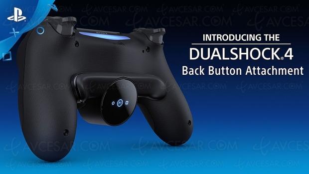 Deux boutons de plus et un écran Oled pour la manette PlayStation DualShock 4