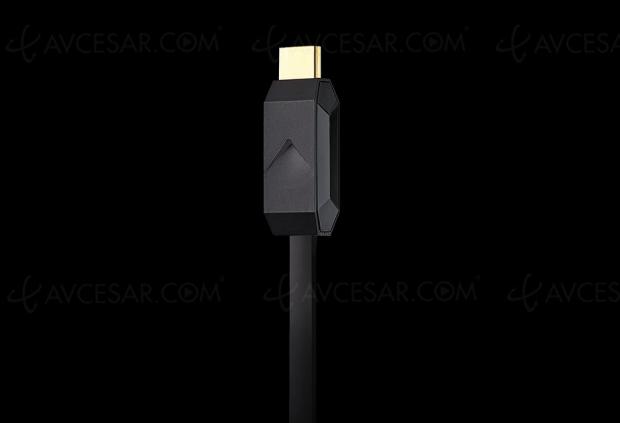 Premier câble HDMI 8K à fibre optique signé Arquus