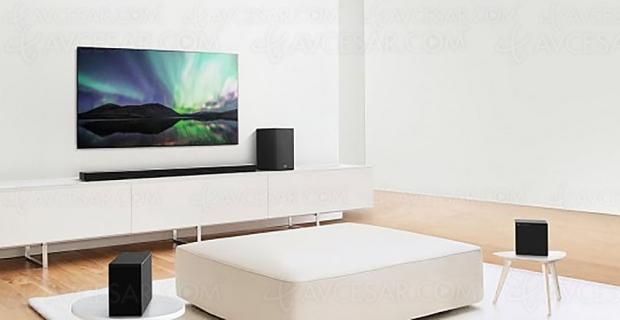 CES 20 > LG SN9YG et LG SN11RG, barres de son eARC, Google Assistant, Dolby Atmos et DTS:X