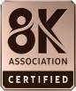 Norme 8K Association, le logo de certification est arrivé !