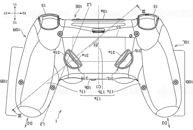 Manette PlayStation 5 : deux boutons de plus ?