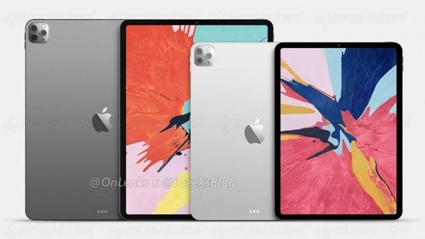 Nouveaux iPad Pro triple capteur en mars ?