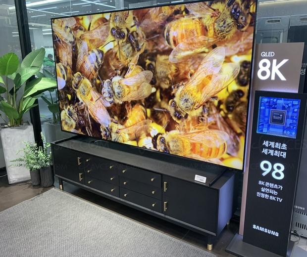 500 000 téléviseurs Ultra HD 8K en 2020