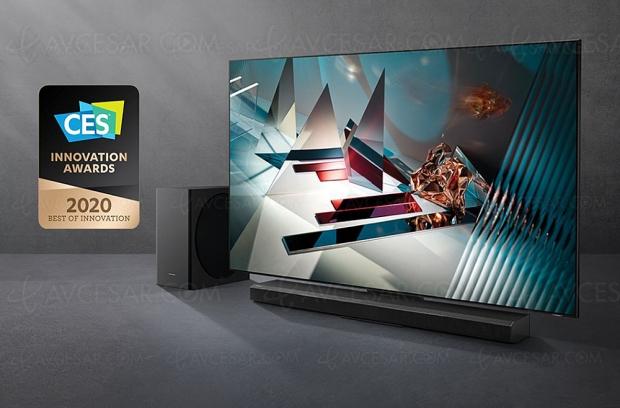 CES 20 > TV QLED Ultra HD 8K Samsung Q800T, la 8K plus abordable
