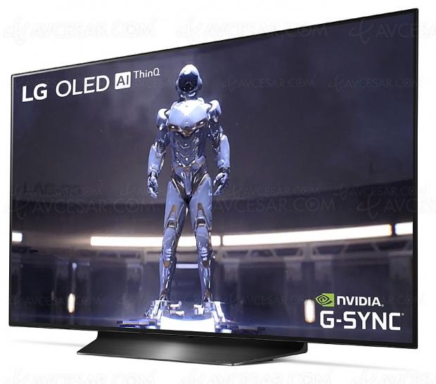 CES 20 > TV LG OLED48CX (48'', 122 cm), première photo