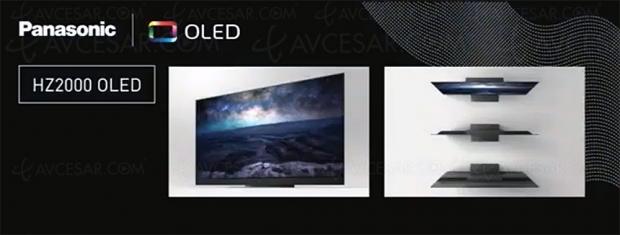 CES 20 > TV Oled Panasonic HZ2000, annonce fugace pendant la conférence Panasonic
