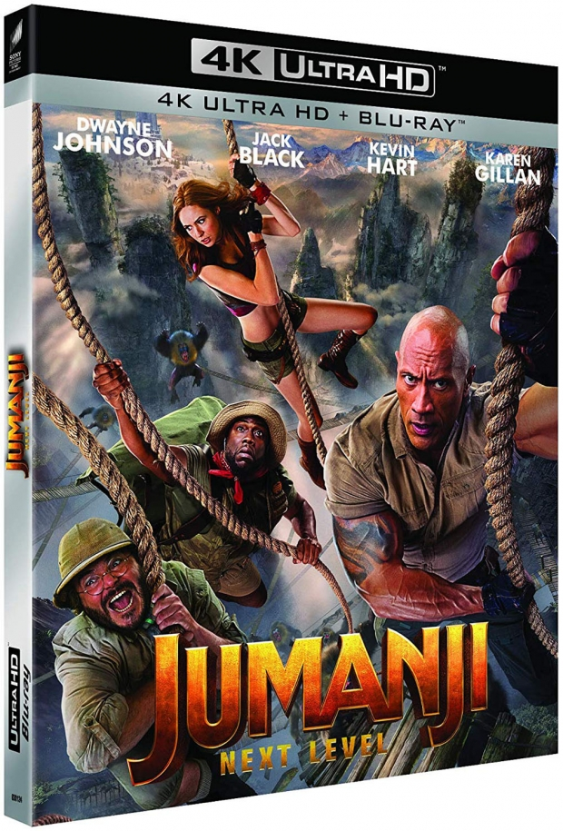 Jumanji : Next Level, alerte 4K Ultra HD qui dépote